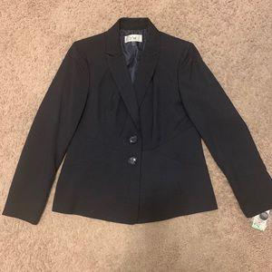 NWT Le Suit Navy Blue Blazer size 8